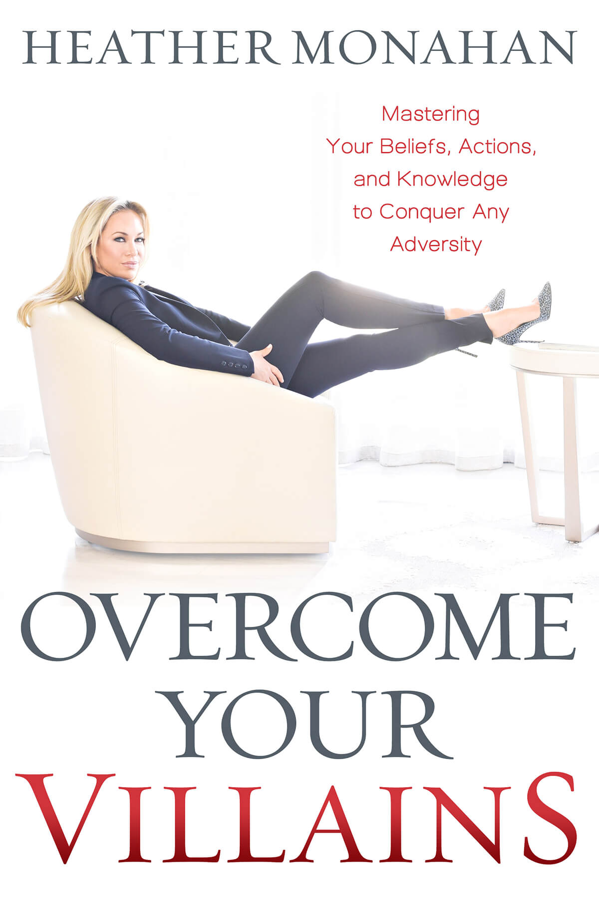 Overcome Your Villains Book Pre-Order your copy now